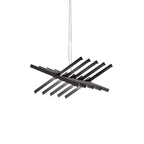Подвесной светильник Rhythm by Vibia L48 (черный)
