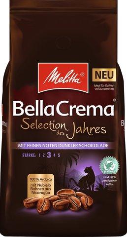 Кофе в зернах Melitta Bella Crema Коллекция года, 1 кг