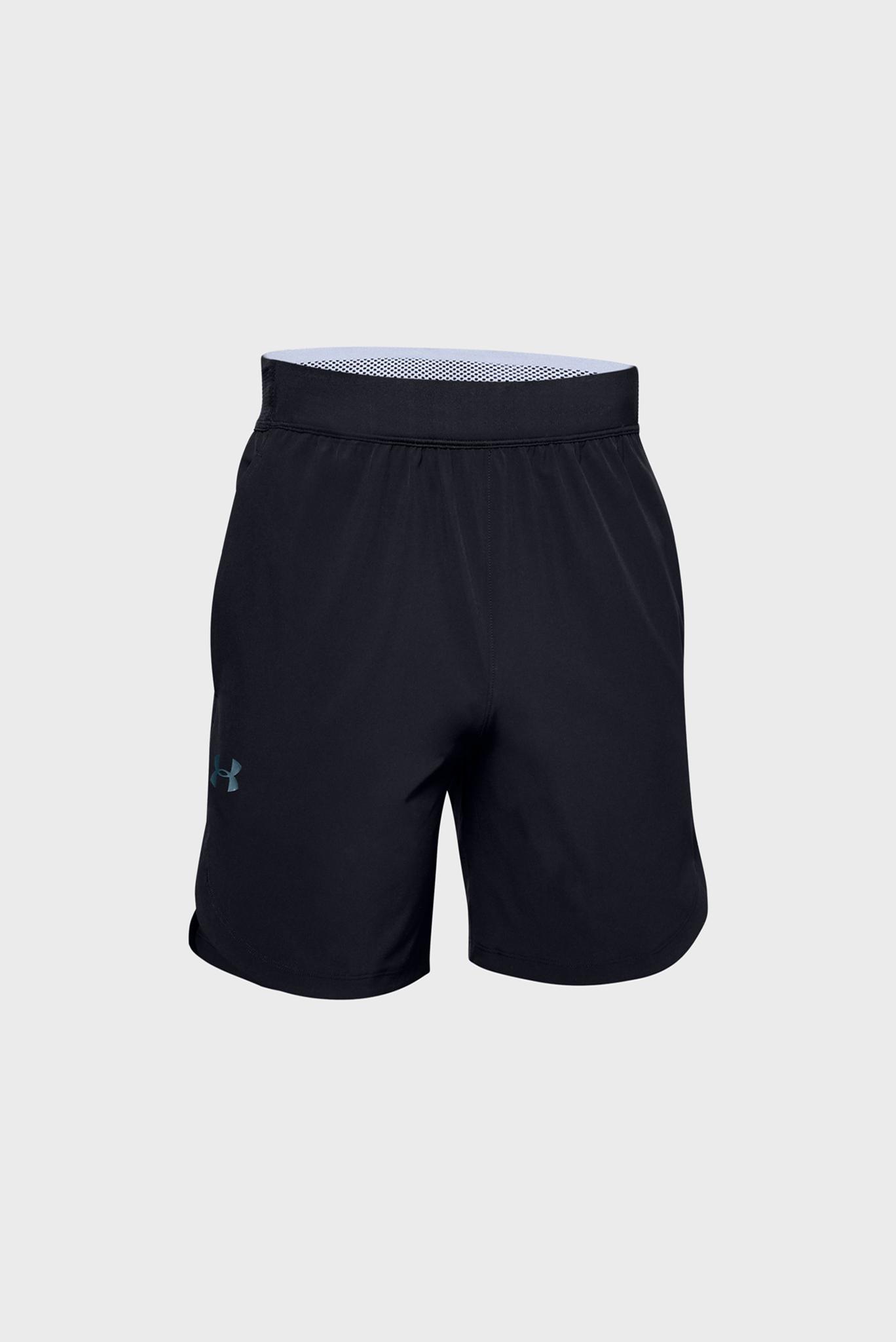 Мужские черные спортивные шорты Stretch-Woven Shorts Under Armour