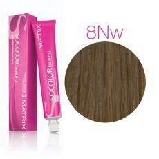 Matrix SOCOLOR.beauty: Neutral Warm 8NW натуральный теплый светлый блондин, краска стойкая для волос (перманентная), 90мл