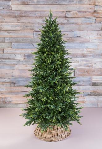 Искусственная елка Королевская стройная 155 см зеленая
