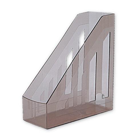 """Лоток вертикальный для бумаг """"Brauberg"""" Тонированный ширина 85мм"""
