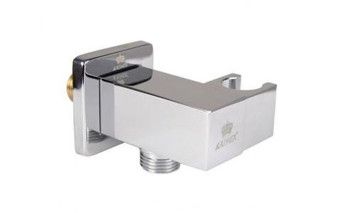 Настенный кронштейн KAISER 0048 для соединения шланга, квадратный с держателем