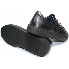 Мужская обувь демисезонная Ікос 1528-1 Black