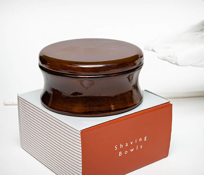 RAZ510-2 Чаша «PARKER» для мыла из дерева манго, темно-коричневая