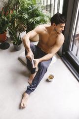 Мужские брюки пижамные E20K-11D102