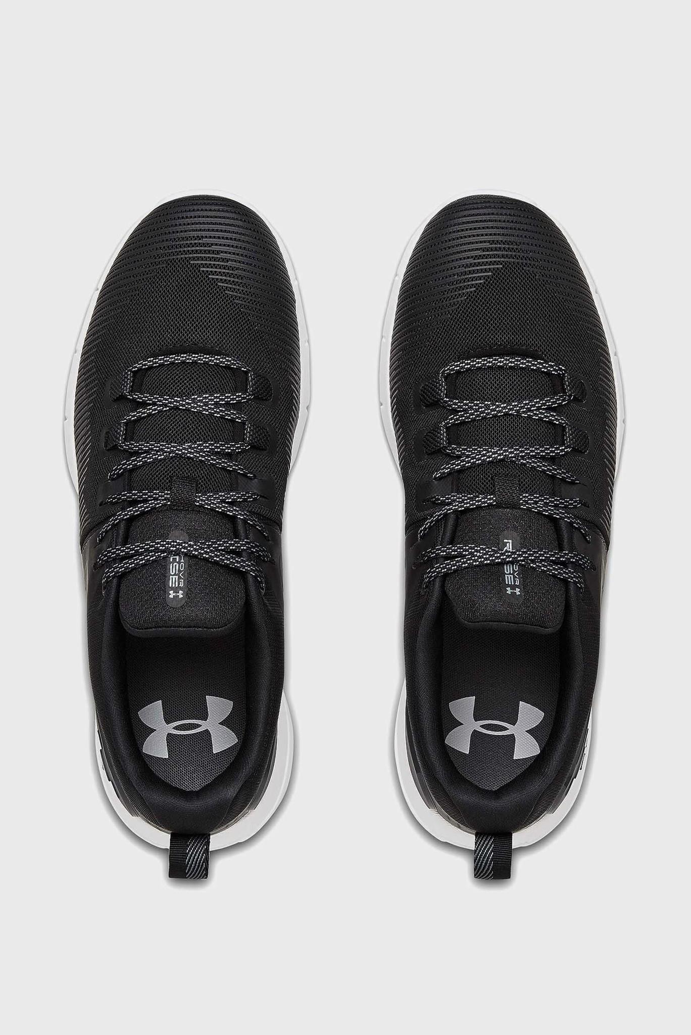 Мужские черные кроссовки UA HOVR Rise-BLK Under Armour