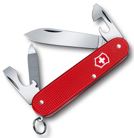 Нож Victorinox Alox Cadet, 84 мм, 9 функций, красный (подар. упаковка)123