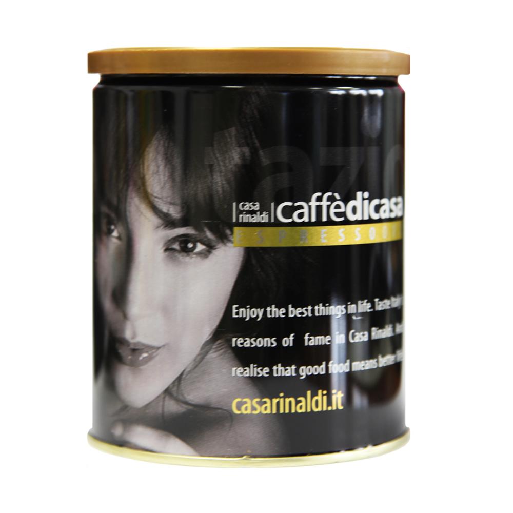 Кофе Casa Rinaldi натуральный жареный эспрессо Золотой молотый 250г