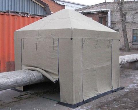 Палатка сварщика 2,5х2,5 м брезент