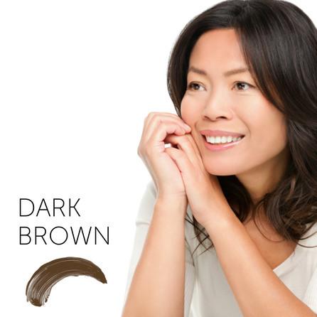 "4. Dark Brown пигмент для бровей   ""Tina Davies 'I Love INK' Permablend"