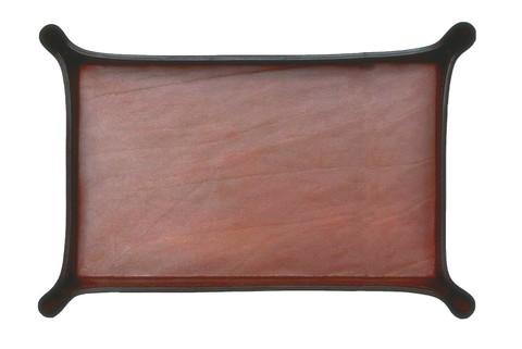 Лоток А4 фигурный DE LUXE из кожи Full Grain Toscana Tan