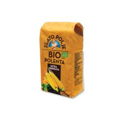 Крупа кукурузная полента Bio ZLATO POLJE (450 гр)