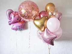 Воздушные шарики для девочки