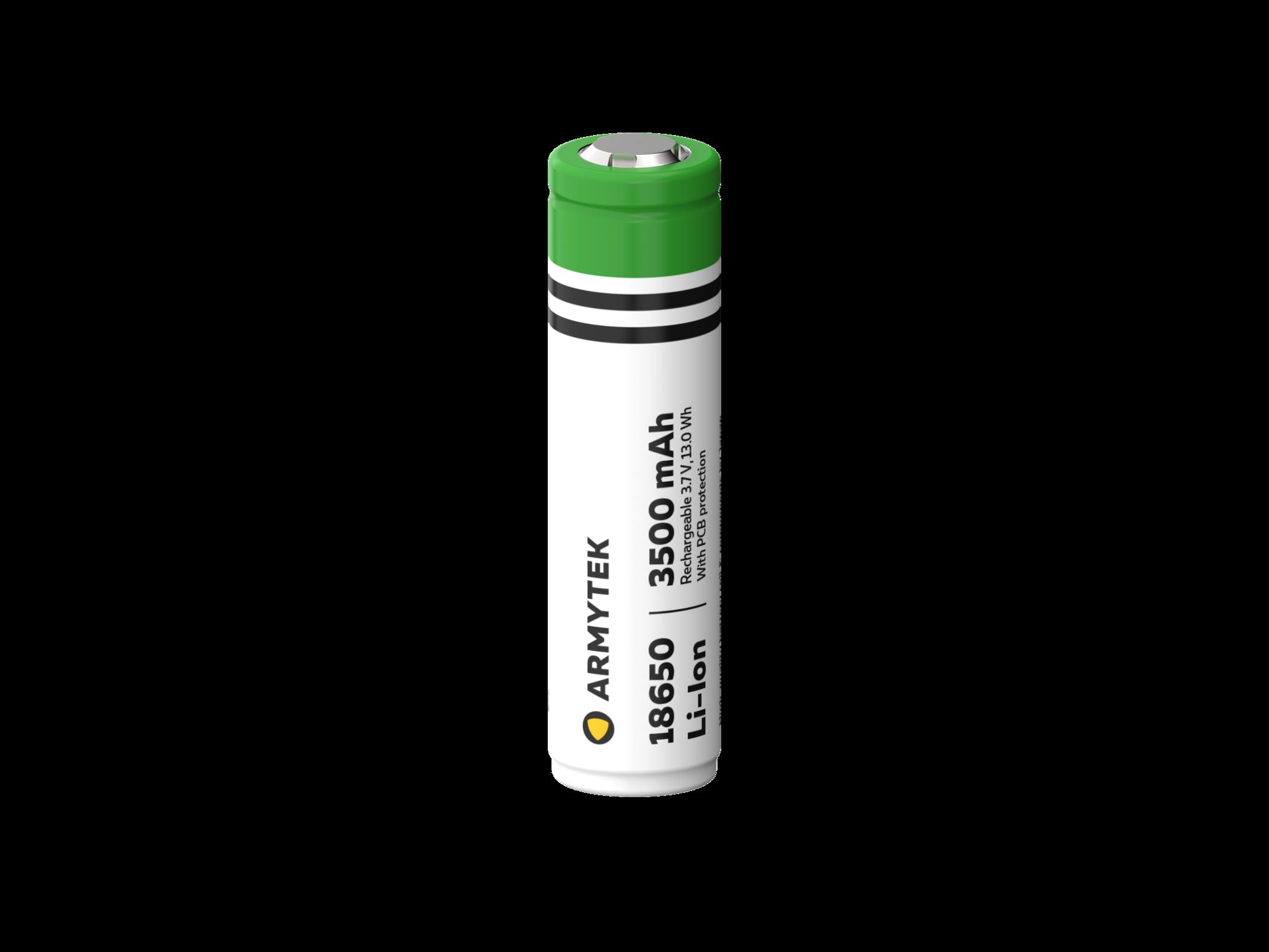 Li-Ion аккумулятор Armytek 18650 3500 mAh - фото 1