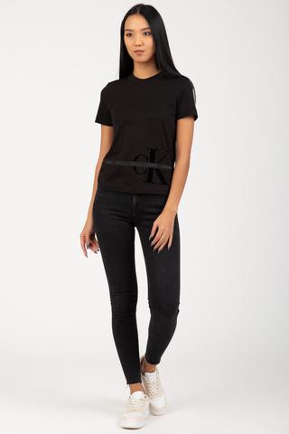 Футболка MONOGRAM TAPE TEE Calvin Klein Jeans