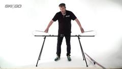 Станок-профиль SkiGo для смазки лыж на ножках - 2