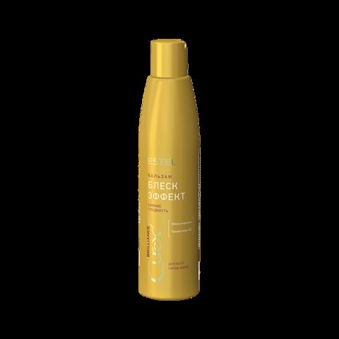 Бальзам-сияние для всех типов волос CUREX BRILLIANCE, 250 мл