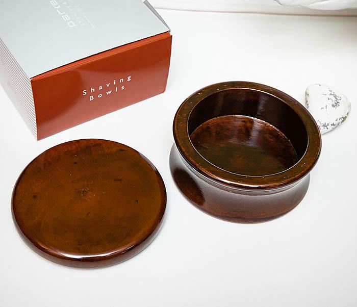 RAZ510-2 Чаша «PARKER» для мыла из дерева манго, темно-коричневая фото 03