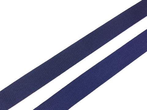 Резинка бретелечная темно-синяя 20 мм (цв. 061)