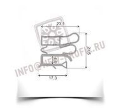 Уплотнитель для холодильника AEG OKO SANTO 3442-1 м.к. 785*635 мм (012)