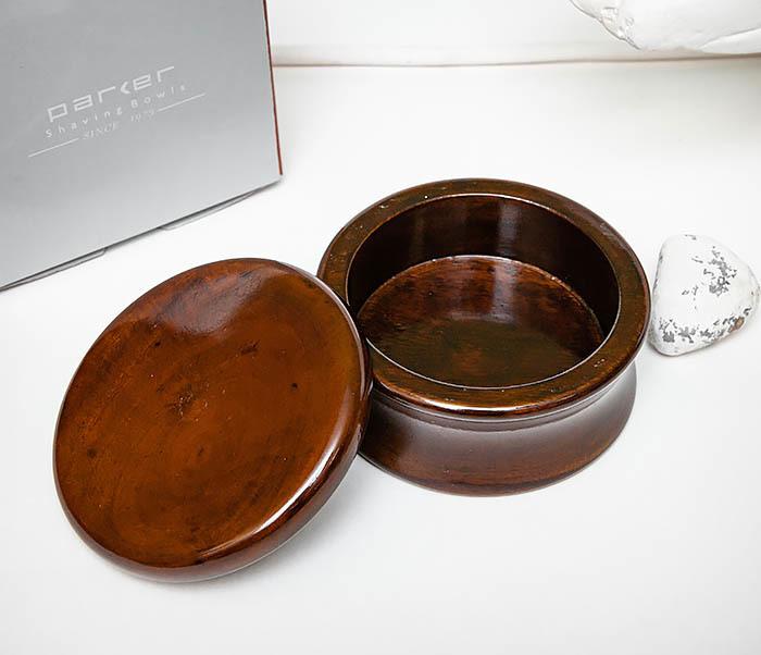 RAZ510-2 Чаша «PARKER» для мыла из дерева манго, темно-коричневая фото 04