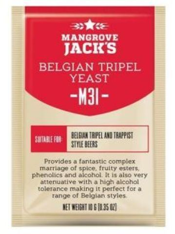 Пивные дрожжи Mangrove Jack's M31 Belgian Tippel, 10 гр