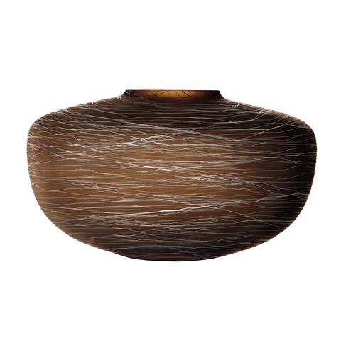 Ваза Boulder 17,5 см коричневая