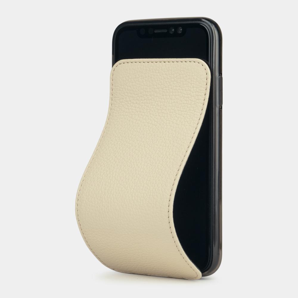 Case for iPhone XR - cream