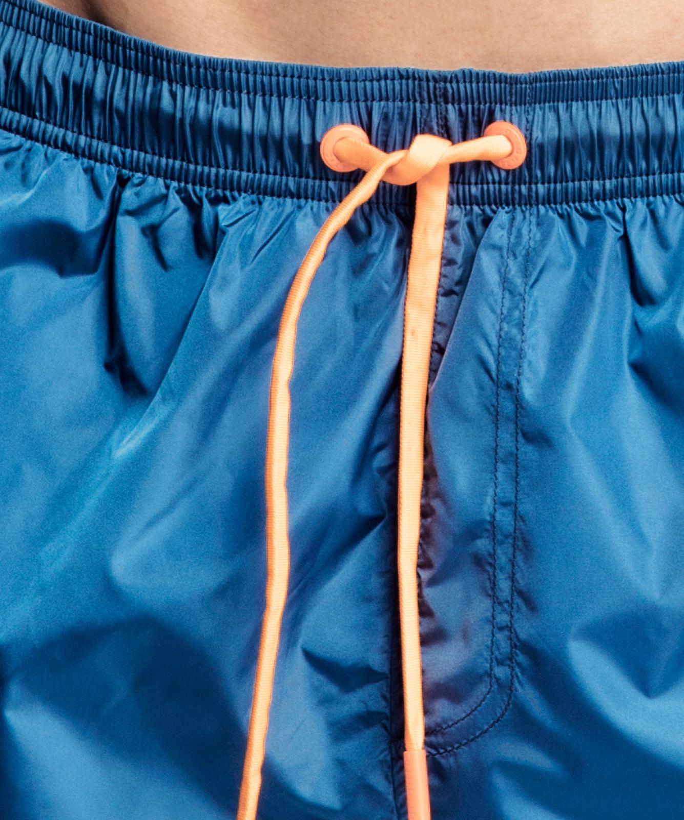 Пляжные шорты мужские Atlantic, 1 шт. в уп., полиэстер, деним, KMB-188