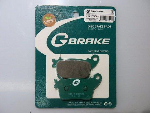 Тормозные колодки G-brake 01093S Honda CBR 600 Suzuki GSXR Kawasaki  ZX-6R ZX-10R