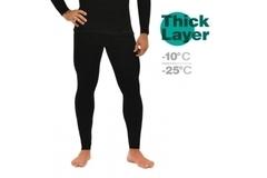 Кальсоны мужские Mottomo Thick Layer 3XL черный