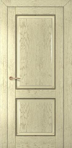 Дверь Румакс Гранд ДГ, цвет слоновая кость , глухая