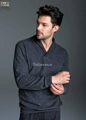 Итальянский домашний мужской костюм (пижама) ENRICO COVERI 5009