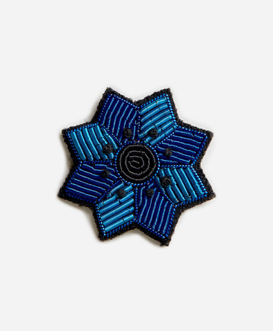 Брошь Mini Bleuet