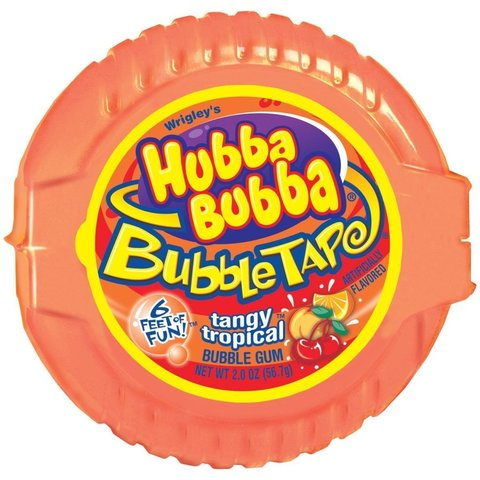 Жевательная резинка Hubba Bubba тропический микс 56 гр