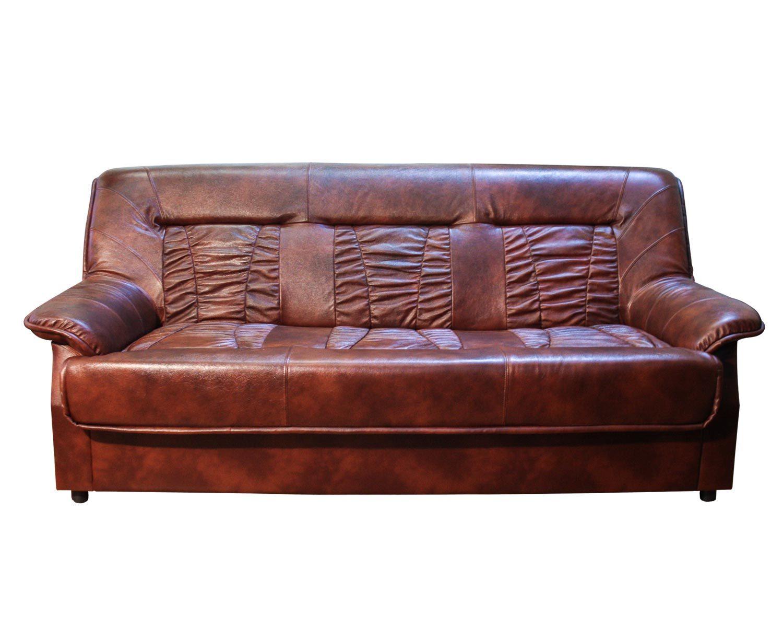 3-местный диван Сиеста в натуральной коже отлично подойдет для вашего офиса или приемной