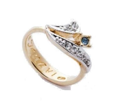 Кольцо с позолотой Вилет