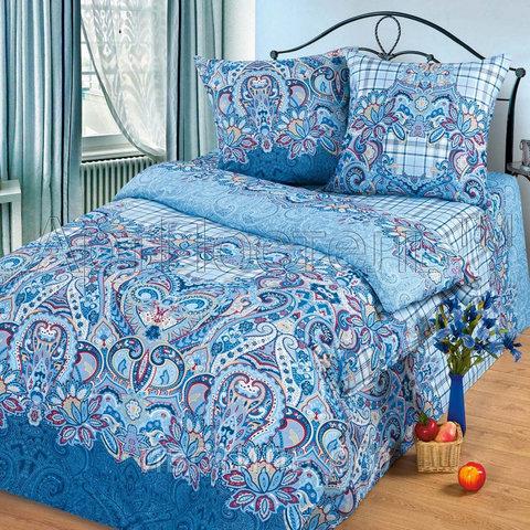 Комплект постельного белья Индиго Премиум