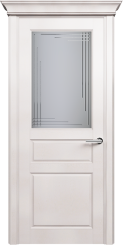 CLASSIC 532 Белый Жемчуг стекло Грань