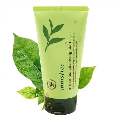 Очищающая пенка с зеленым чаем INNISFREE Green Tea Cleanser Foam