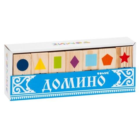 Домино детское Геометрические фигуры 28 деталей Томик арт. 5655-1