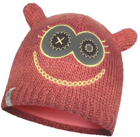 Вязаная шапка детская Buff Monster Merry Pink фото 1