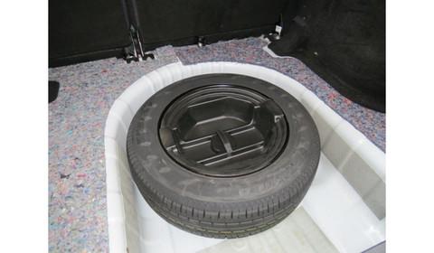 Органайзер в нишу запасного колеса 15