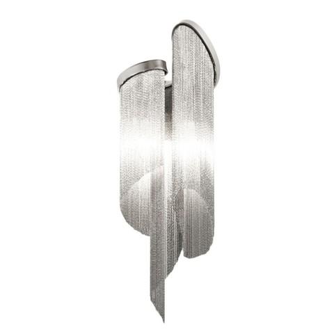 Настенный светильник копия  Stream by Terzani (серебряный)