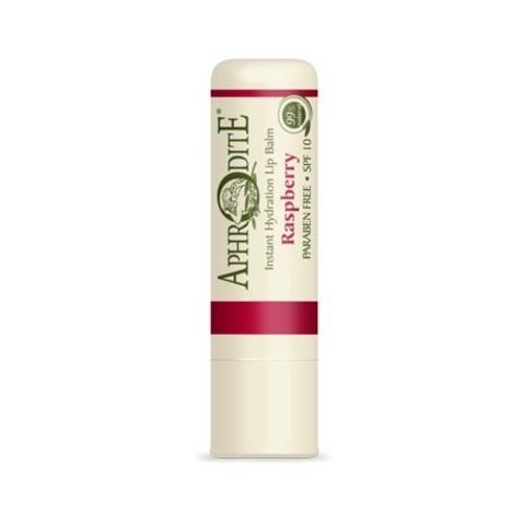 Защитный бальзам для губ с ароматом малины
