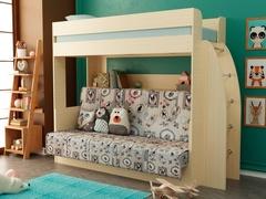 Двухъярусная кровать с диваном внизу Омега 17