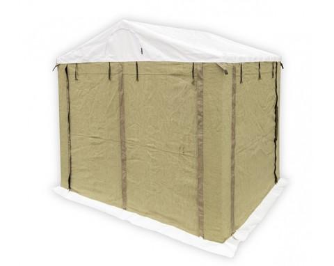 Палатка сварщика 2.5х2.0 ПВХ+брезент (каркас из квадратной трубы 20х20 мм)