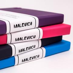 Скетчбук блокнот для спиртовых маркеров и графики Малевичъ