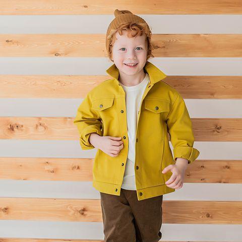 Denim jacket - Mustard